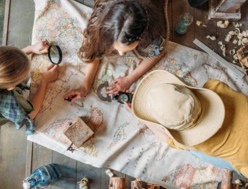 caccia al tesoro in casa per i bambini